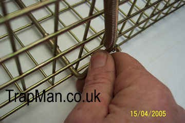 pro gold squirrel trap is easy to open and set