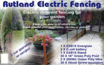 GARDEN FENCES TO KEEP WILDLIFE ON THE OUTSIDE LOOKING IN